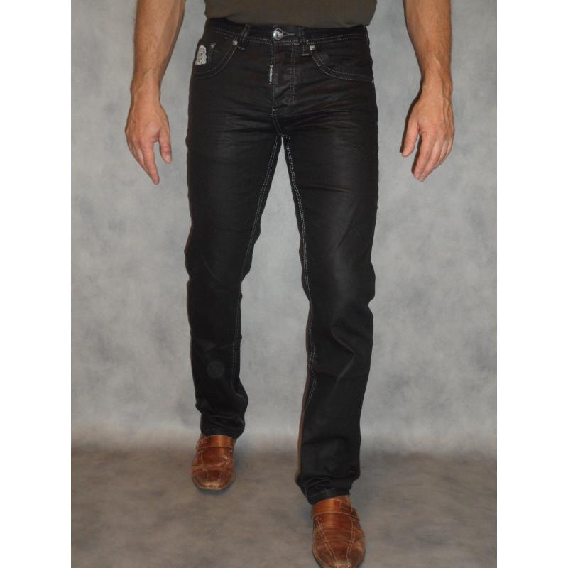 hombre revestida jeans aceitenegro apariencia Jeans efecto WD2be9IHYE